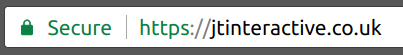 Browser Indictaion of Secure site